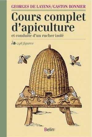 Cours complet d'apiculture - belin - 9782701175584 -