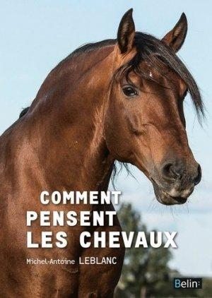 Comment pensent les chevaux ? - belin - 9782701195070 -