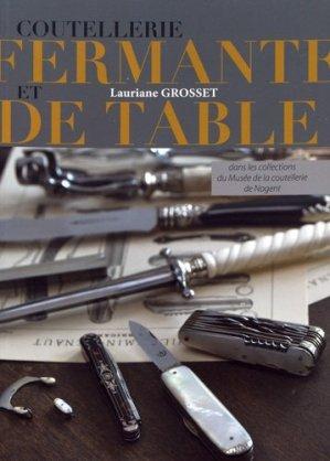 Coutellerie fermante de table - crepin leblond - 9782703004233 -