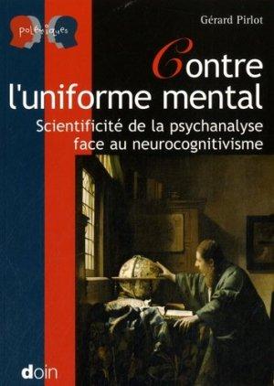 Contre l'uniforme mental - doin - 9782704012831