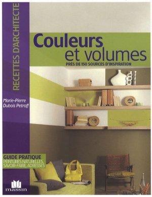 Couleurs et volumes - massin - 9782707206381 -