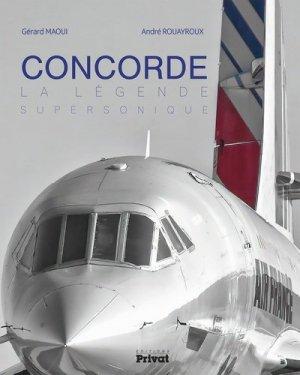 CONCORDE, la légende supersonique - privat - 9782708992849 -