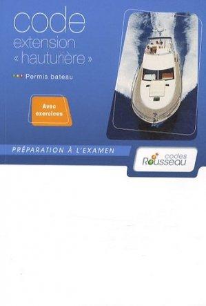 Code extension 'hauturière' - codes rousseau - 9782709512053 -