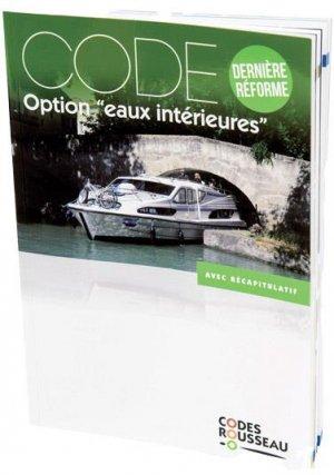 Code option 'eaux intérieures' - Codes Rousseau, SA - 9782709515405 -