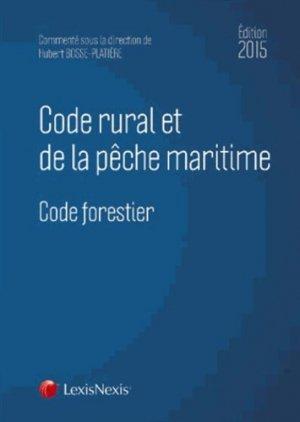 Code rural et de la pêche maritime Code forestier - lexis nexis - 9782711022137 -