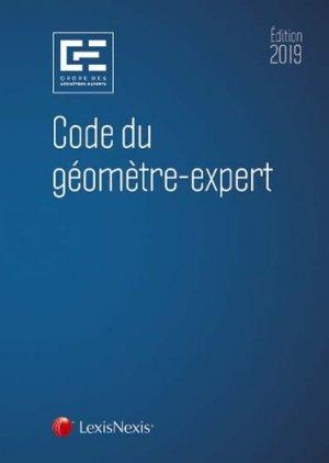 Code du géomètre expert 2019 - lexis nexis (ex litec) - 9782711030712 -