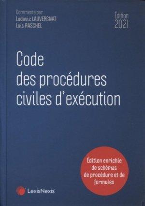 Code des procédures civiles d'exécution. Edition 2021 - lexis nexis (ex litec) - 9782711034222 -