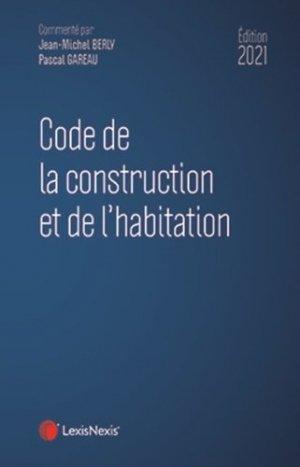 Code de la construction et de l'habitation - lexis nexis (ex litec) - 9782711035038 -