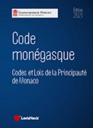 Code monégasque - lexis nexis (ex litec) - 9782711035083 -