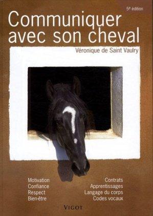 Communiquer avec son cheval - vigot - 9782711420988 -