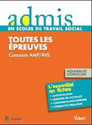 Concours AMP et AVS-vuibert-9782711739189
