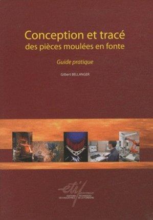 Conception et tracé des pièces moulées en fonte - etif - 9782711902422 -