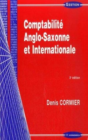 Comptabilité Anglo-Saxone et Internationale - Economica - 9782717854435 -