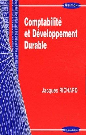 Comptabilité et développement durable - Economica - 9782717861464 -