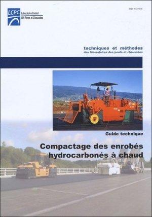 Compactage des enrobés hydrocarbonés à chaud - LCPC - 9782720831089 -