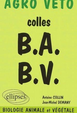 Colles B.A. B.V. - ellipses - 9782729812393 -