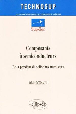 Composants à semiconducteurs - ellipses - 9782729828042 -
