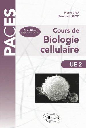 Cours de biologie cellulaire - ellipses - 9782729873769