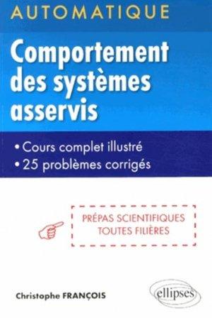 Comportement des systèmes asservis - ellipses - 9782729884895 -