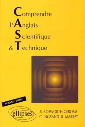 Comprendre l'anglais scientifique et technique - Ellipses - 9782729892203 -