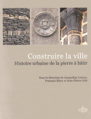 Construire la ville - cths - 9782735508143 - majbook ème édition, majbook 1ère édition, livre ecn major, livre ecn, fiche ecn