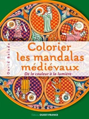 Colorier les mandalas médievaux - Ouest-France - 9782737376993 -