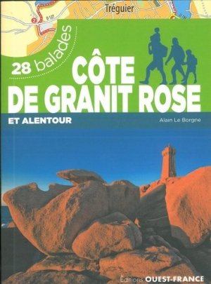 Côte de granit rose / 28 balades - ouest-france - 9782737377150 -