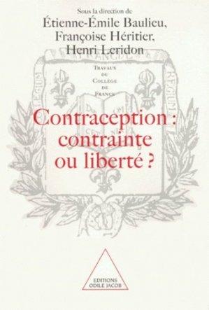 Contraception : contrainte ou liberté ? - odile jacob - 9782738107220 -