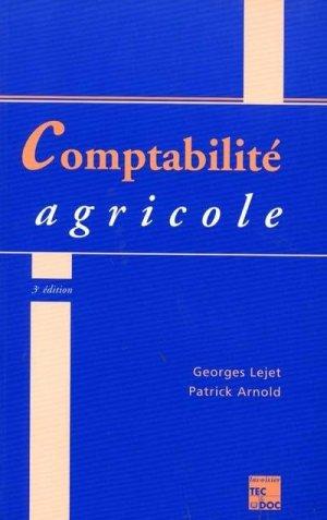 Comptabilité agricole - lavoisier / tec et doc - 9782743002886 -
