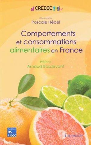Comportements et consommations alimentaires en France - lavoisier / tec et doc - 9782743014735 -