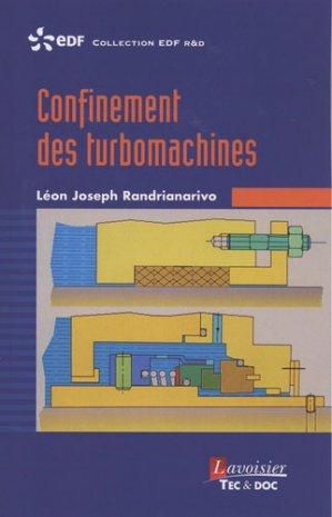Confinement des turbomachines - lavoisier / tec et doc - 9782743023683 -