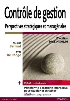 Contrôle de gestion - Pearson - 9782744076466 -