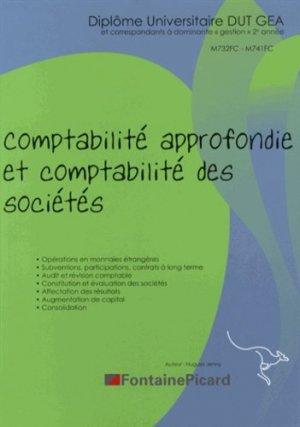Comptabilité approfondie et comptabilité des sociétés DUT GEA - Fontaine Picard - 9782744625039 -