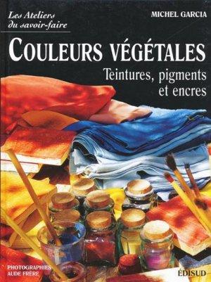 Couleurs végétales - edisud - 9782744903083 -