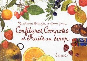 Confitures, compotes et fruits au sirop - Edisud - 9782744904189 -