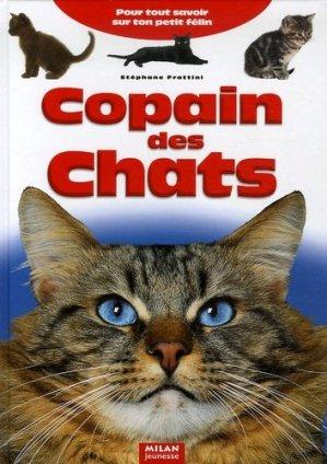 Copain des chats - milan - 9782745918437 -