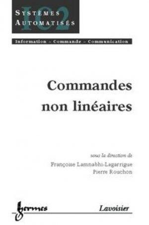 Commandes non linéaires - hermès / lavoisier - 9782746205772 -