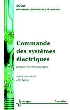 Commande des systèmes électriques - hermès / lavoisier - 9782746207356 -