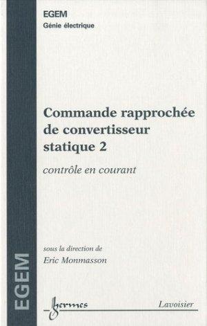 Commande rapprochée de convertisseur statique - Hermes Science Publications - 9782746223844 -