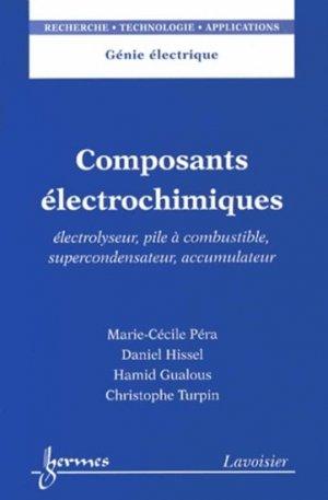 Composants électrochimiques - hermès / lavoisier - 9782746238138