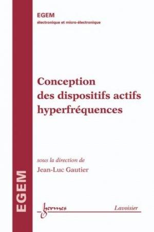 Conception des dispositifs actifs hyperfréquences - Hermes Science Publications - 9782746245839 -