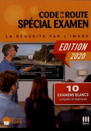 Code de la route spécial examen - eska - 9782747229197 -