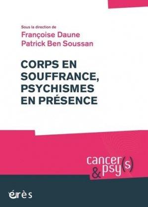 Corps en souffrance, psychismes en présence - eres - 9782749256832 - majbook ème édition, majbook 1ère édition, livre ecn major, livre ecn, fiche ecn