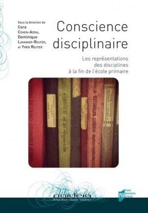 Conscience disciplinaire - presses universitaires de rennes - 9782753528499 -