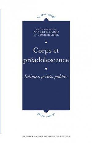 Corps et préadolescence - presses universitaires de rennes - 9782753553910 - majbook ème édition, majbook 1ère édition, livre ecn major, livre ecn, fiche ecn