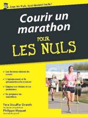 Courir un marathon pour les Nuls - Editions First - 9782754086882 -