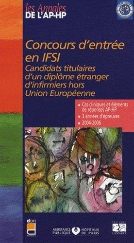 Concours d'entrée en IFSI - doin / ap-hp / lamarre - 9782757301579 -