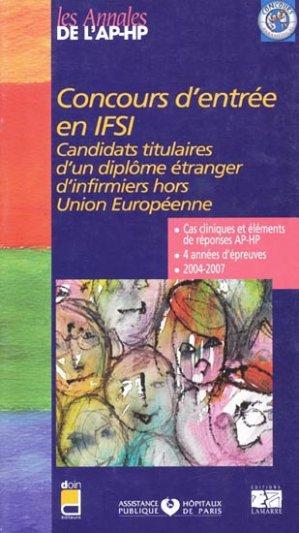 Concours d'entrée en IFSI - lamarre - 9782757302194 -