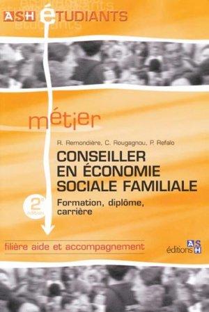 Conseiller en économie sociale familiale - ash - 9782757304655 -