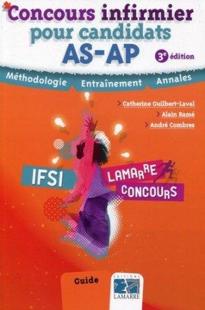 Concours infirmier pour candidats AS-AP - lamarre - 9782757307557 -